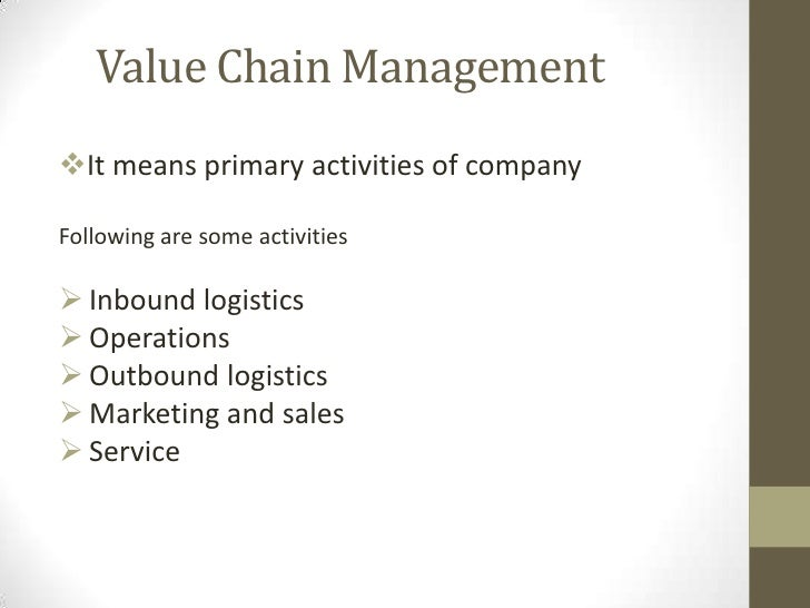 value chain general electric Home » general electric supply chain movement puts supply chain management professionals have been searching for how their discipline adds strategic value.