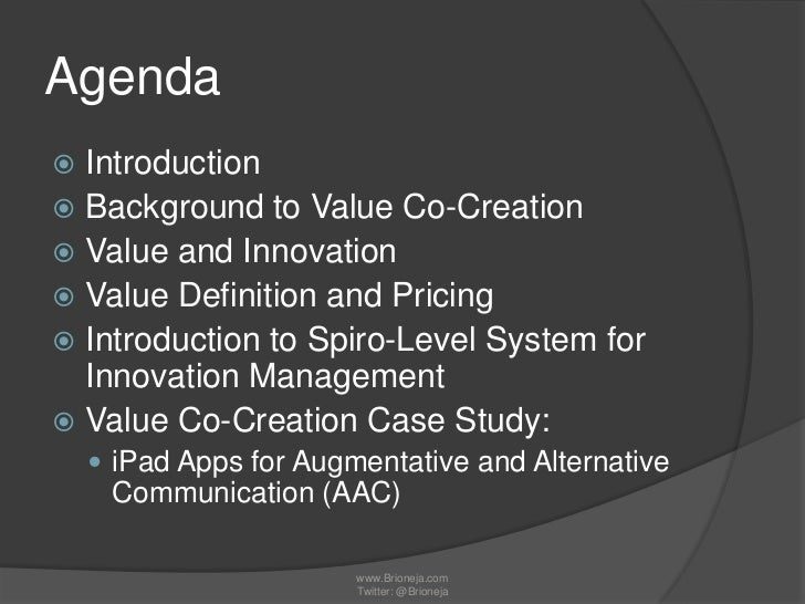 a study of value innovation in Here are six questions for executives to consider when thinking about business model innovation.