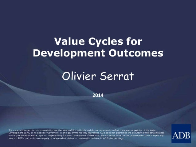 Value Cycles for Development Outcomes