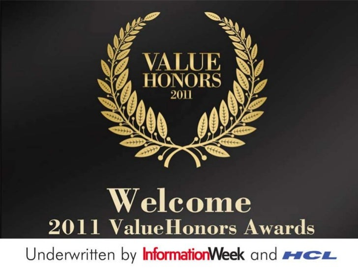 """""""ValueHonors 2011"""" – Celebrating Extraordinary Achievements in Sourcing Engagements"""