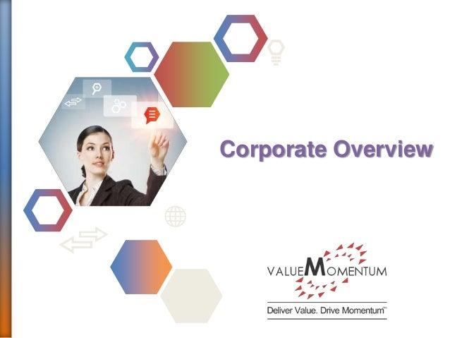 ValueMomentum Company Overview 2013