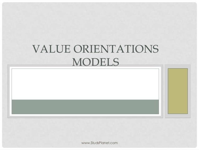 values orientation Advances in consumer research volume 19, 1992 pages 34-38 cultural value orientations: a comparison of magazine advertisements from the united states and mexico.