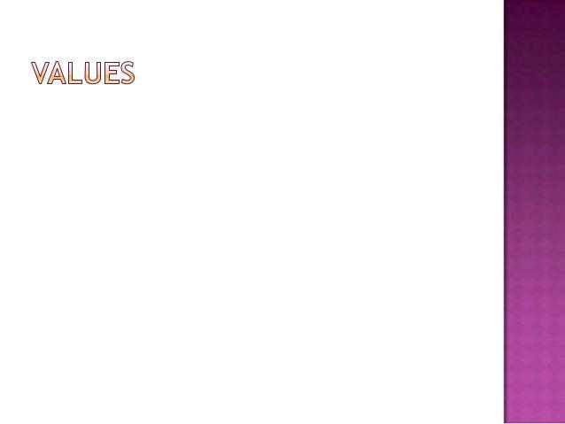 Values 170811