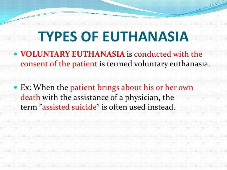 active voluntary euthanasia essay