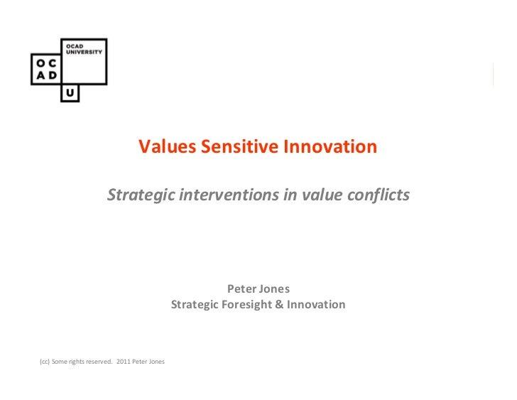 Values Sensitive Innovation                                          PAIN CONSULT                       StrategicConcept d...