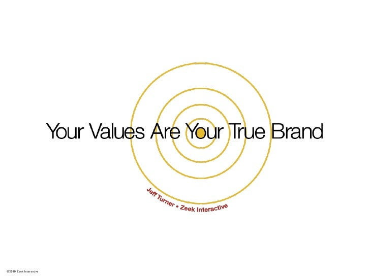 Your Values Are Your True Brand (Revised)
