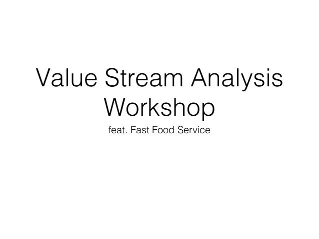 Value Stream Analysis Workshop feat. Fast Food Service