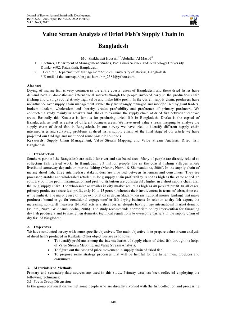 Journal of Economics and Sustainable Development                                                         www.iiste.orgISSN...