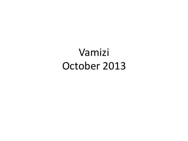 Vamizi October 2013