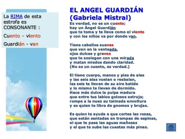 Gabriela Mistral el angel guardian