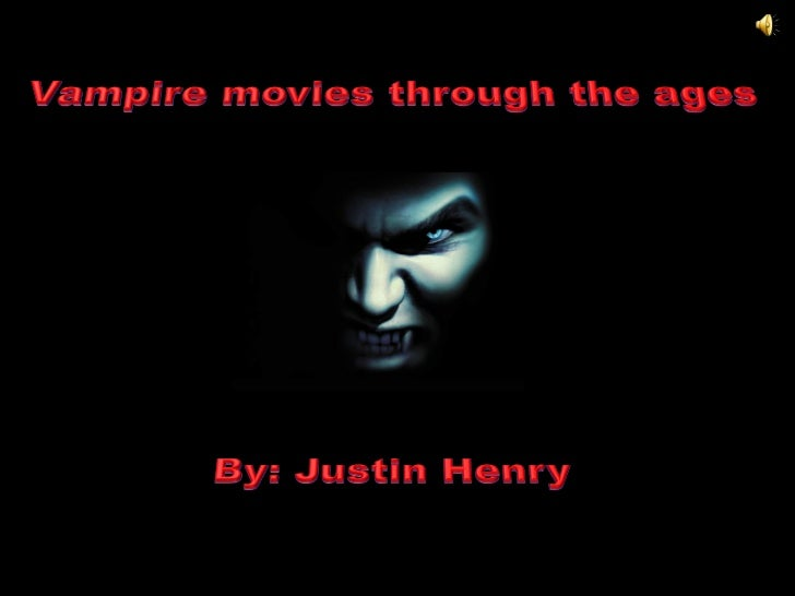 •   The 1920's saw the creation of the first vampire    movie called Nosferatu (1922)•   Grouped in the horror genre•   Is...