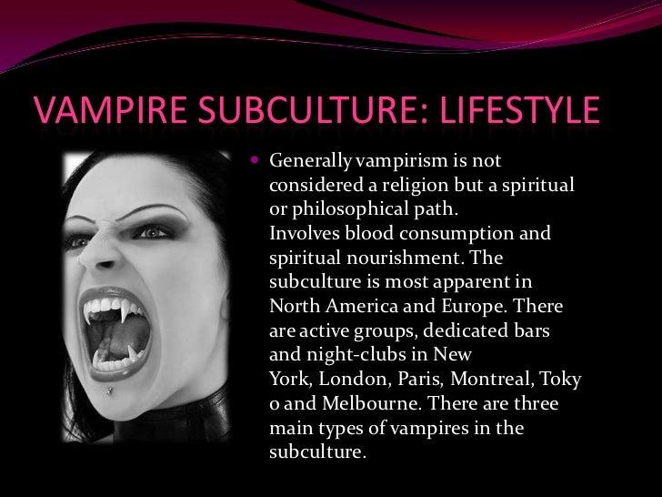 Vampire subculture