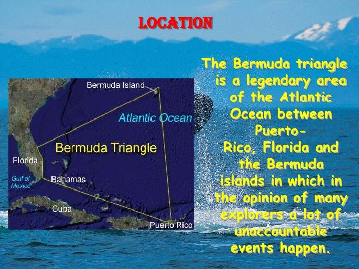 how to draw bermuda triangle