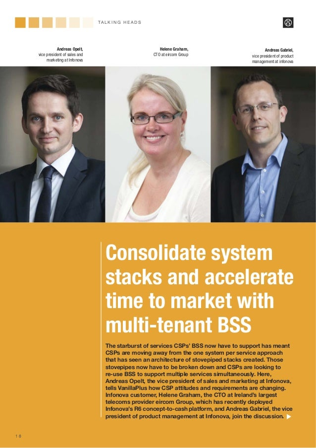 Consolidate system stacks and accelerate time to market with multi-tenant BSS