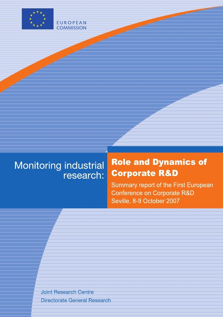 Role and dynamics of corporate R&D