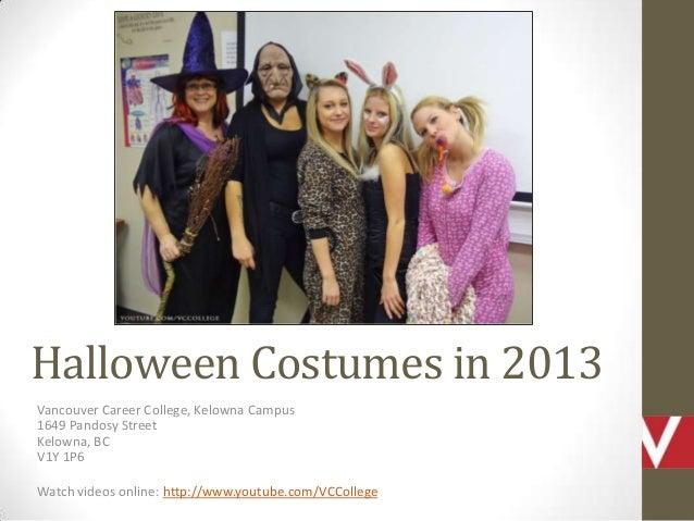 Vancouver Career College Kelowna Campus in Halloween Costumes in BC