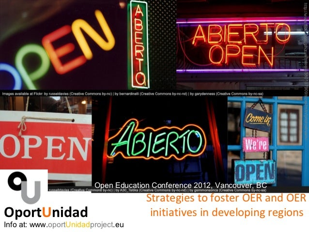 http://www.flickr.com/photos/bsteele/380197909/sizes/m/in/photostream/                         Open Education Conference 2...