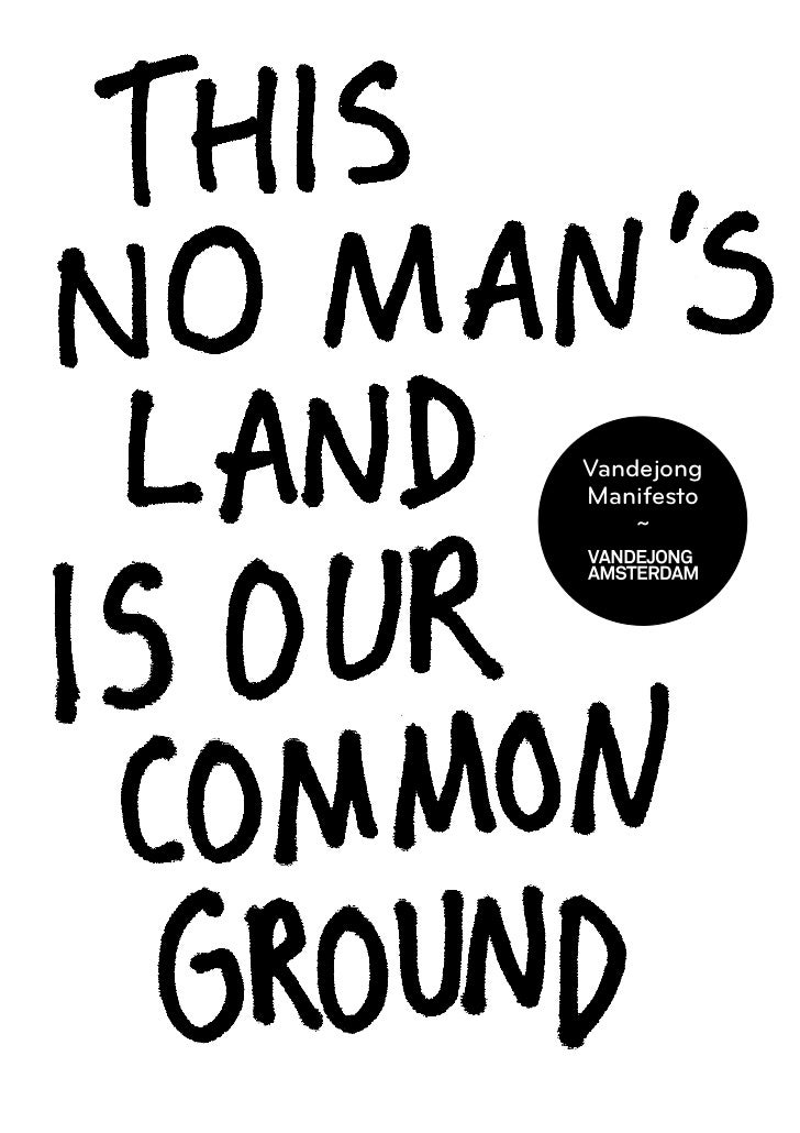 Vandejong optimistic branding: Manifesto (English)