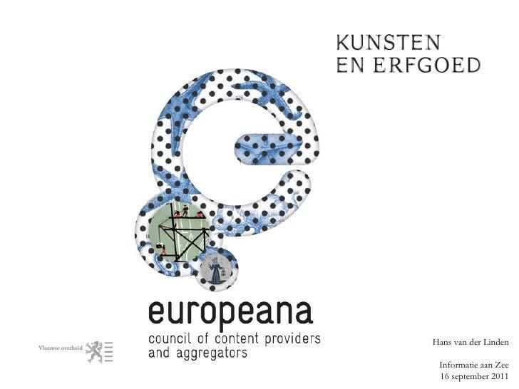Council of Content Providers and Aggregators van Europeana