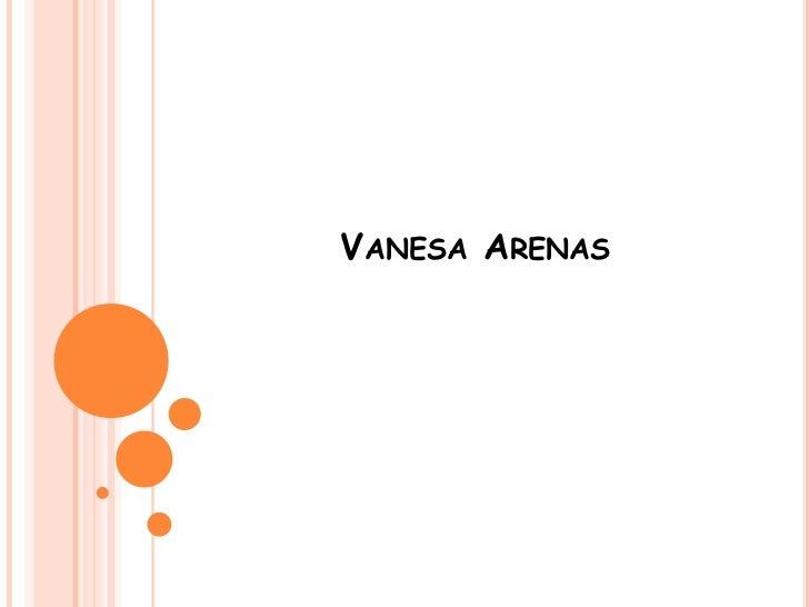 VANESA ARENAS