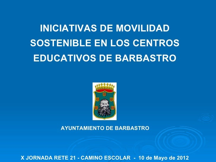 Iniciativas de movilidad sostenible en los centros educativos de Barbastro