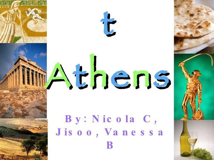 Vanessanicolajisoo ancient athens