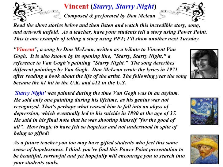 Read the short stories below and then listen and watch this incredible story, song,  and artwork unfold.  As a teacher, ha...