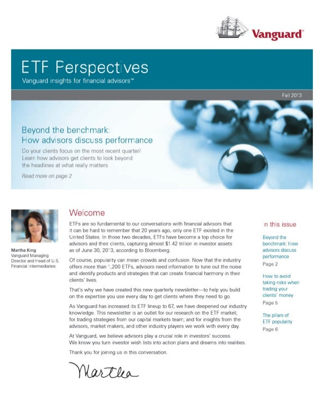 ETF Perspectives | Beyond The Benchmark from Vanguard