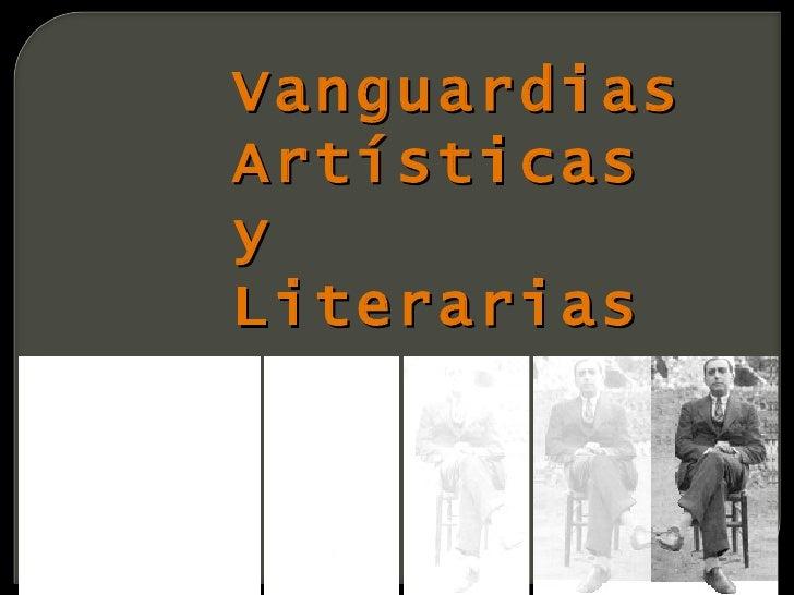VanguardiasArtísticasyLiterarias