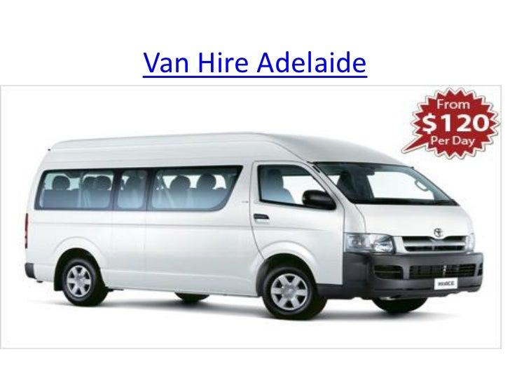 Van Hire Adelaide