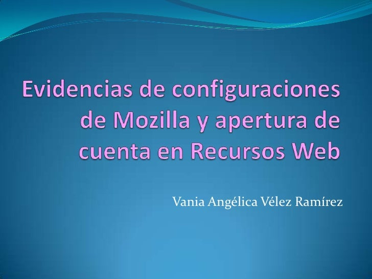 Vania Angélica Vélez Ramírez