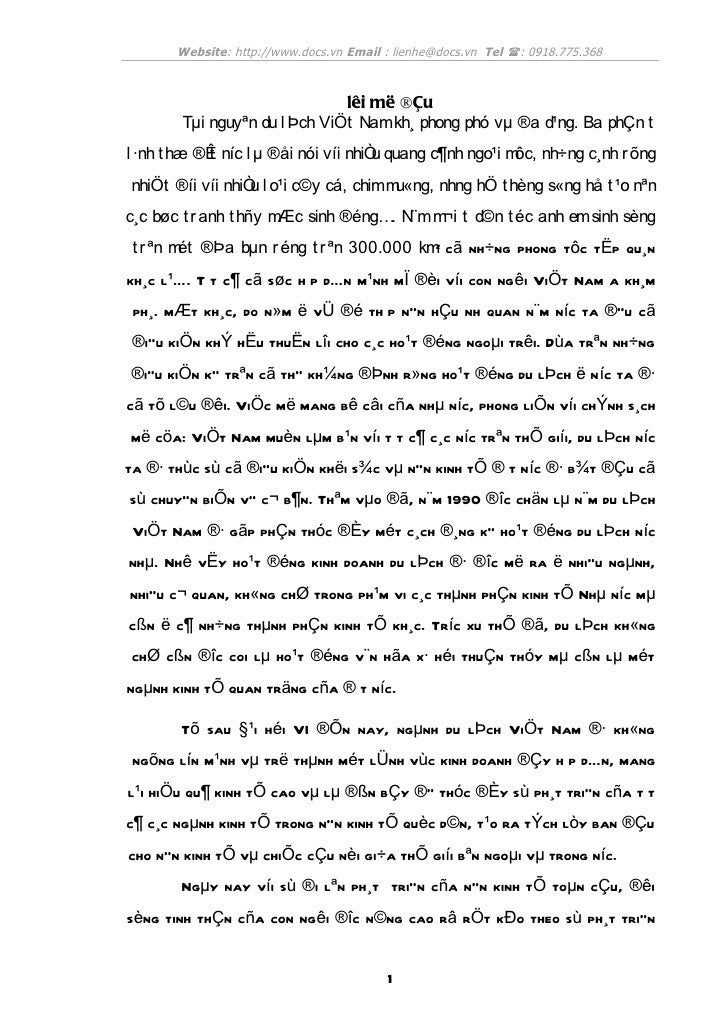 Website: http://www.docs.vn Email : lienhe@docs.vn Tel (: 0918.775.368                              lêi më ®Çu       Tµi n...