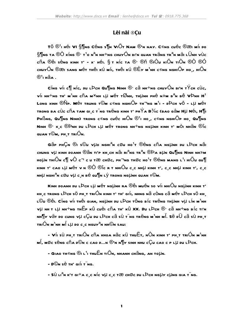 Website: http://www.docs.vn Email : lienhe@docs.vn Tel (: 0918.775.368                                      Lêi nãi ®Çu   ...