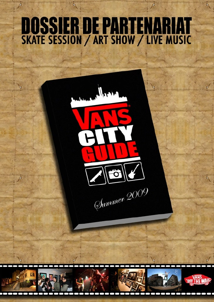 Vans City Guide 2009