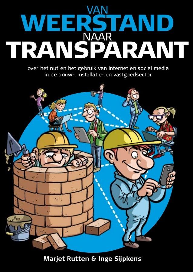 Boek over social media in de bouw: Van weerstand naar transparant
