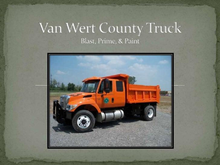 Van Wert County TruckBlast, Prime, & Paint<br />