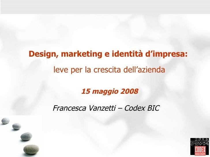 Vanzetti - Codex