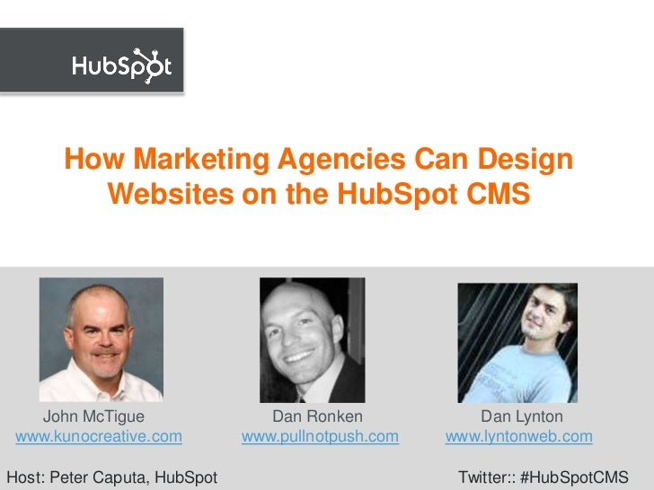 Designing Website on HubSpot's CMS