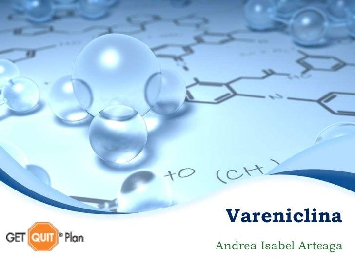 VareniclinaAndrea Isabel Arteaga