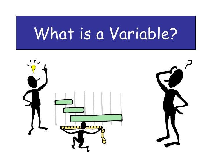 Variable Basics Ppt
