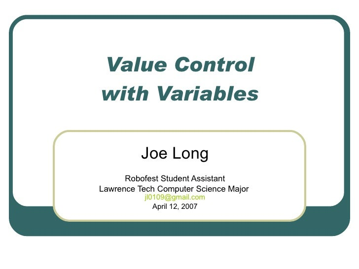 Variable Op