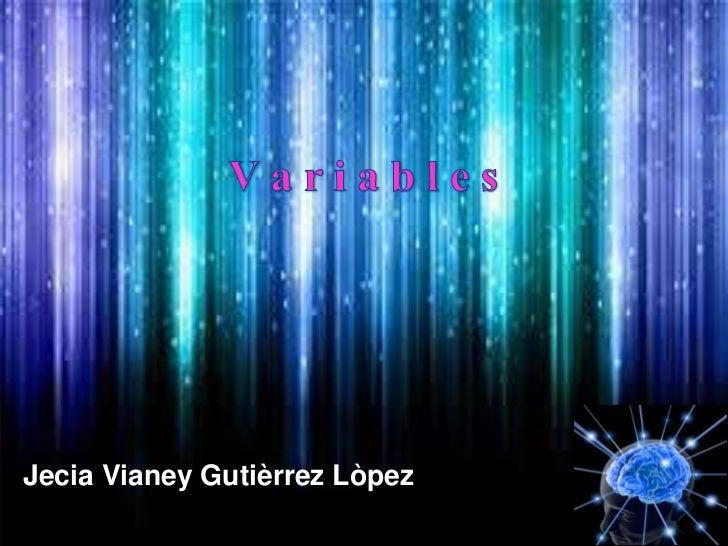 Jecia Vianey Gutièrrez Lòpez