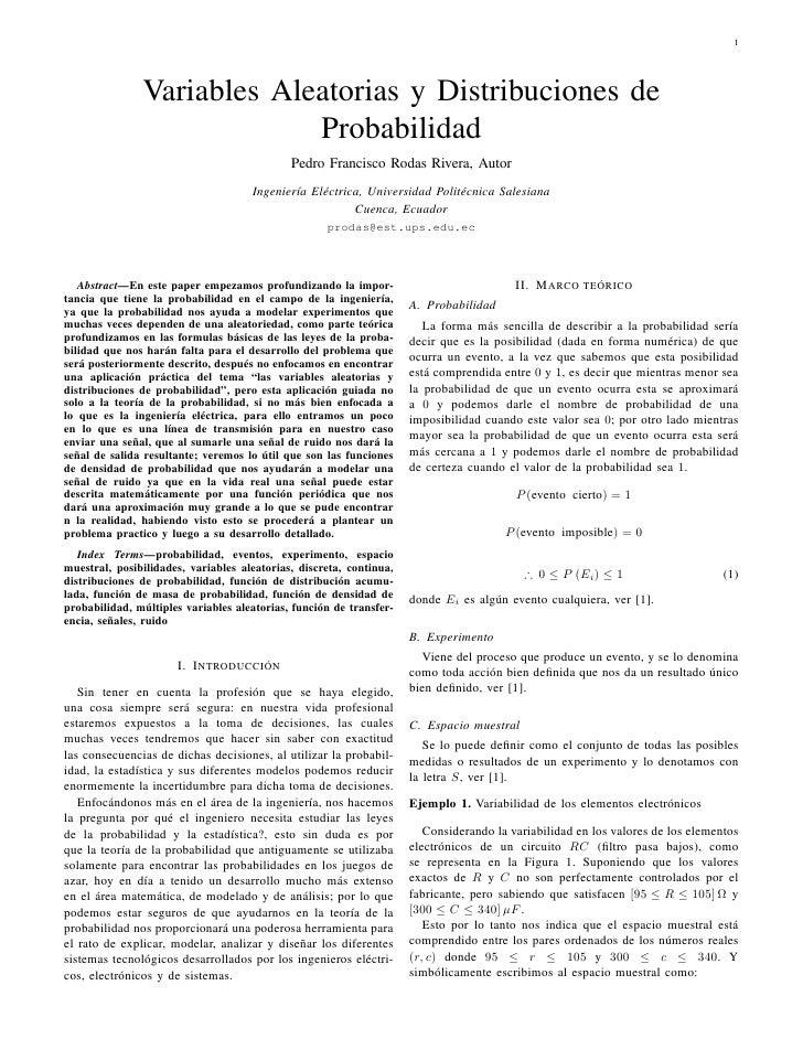 1               Variables Aleatorias y Distribuciones de                            Probabilidad                          ...