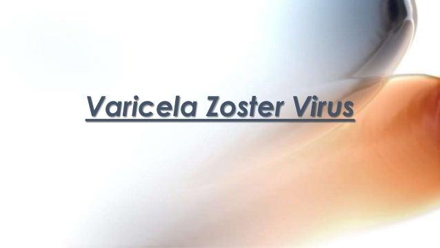 Varicela Zoster Virus