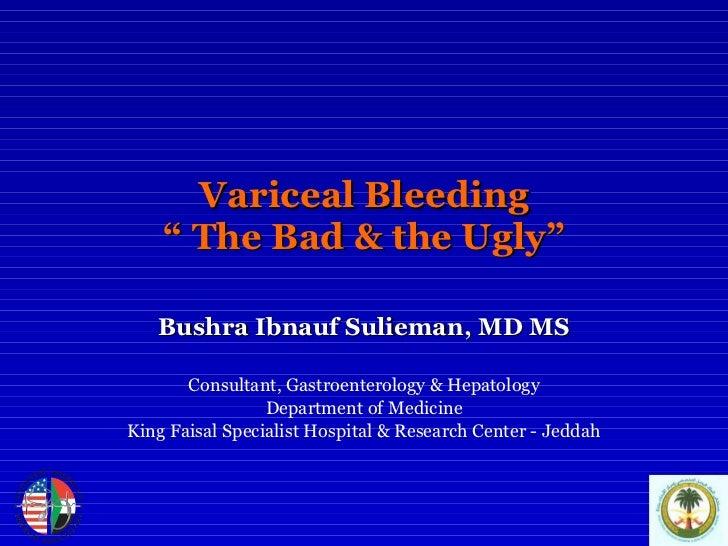 Variceal Bleeding