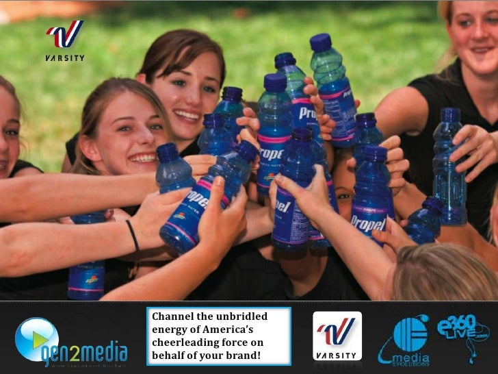 Channel the unbridled energy of America's cheerleading force on behalf of your brand!<br />
