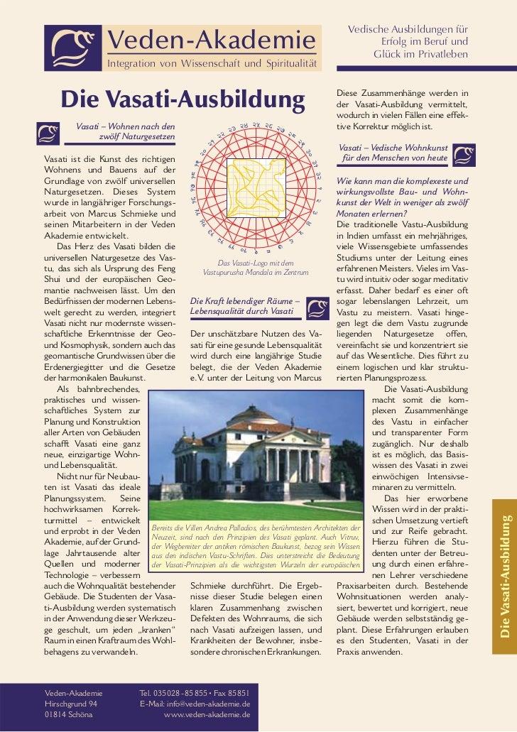 Vedische Ausbildungen für                  Veden-Akademie                                                               Er...