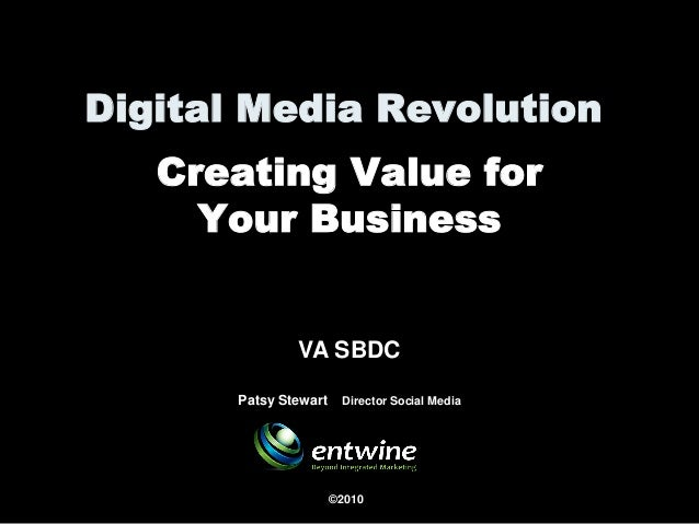 Creating Value for Your Business using Social Media