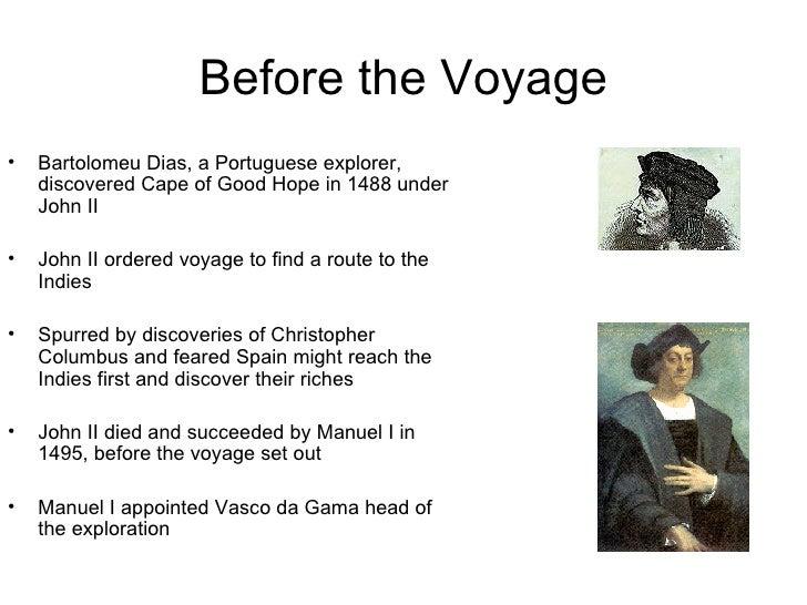 Vasco da gama years of exploration