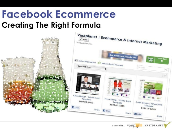 Facebook EcommerceCreating The Right Formula